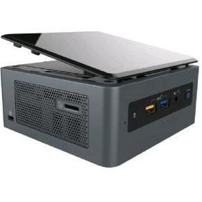 Intel BOXNUC8i7BEH2 NUC Kit [UCFF, 8th Gen, 2x SO-DIMM DDR4 2400Mhz, USB3.1 Gen2, M.2, TB3, Black]