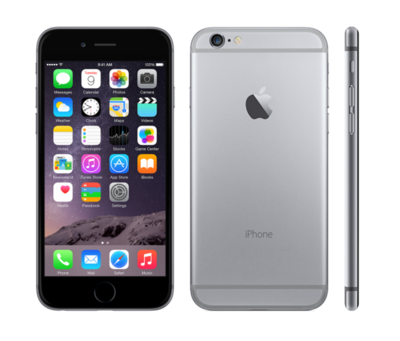 *populair* Apple iPhone 6 64GB 4,7inch simlockvrij space grey + garantie