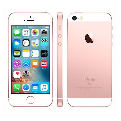 *Gratis screen protector* Apple iPhone SE 16GB simlockvrij Rose Gold + Garantie