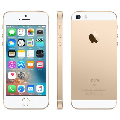 *Gratis screen protector* Apple iPhone SE 16GB simlockvrij Gold + Garantie