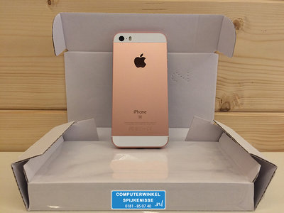 *Outlet* Apple iPhone SE 16GB simlockvrij Rose Gold + Garantie