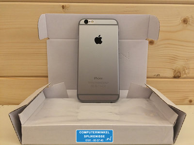 *Outlet* Apple iPhone 6 16GB simlockvrij Space Grey + Garantie
