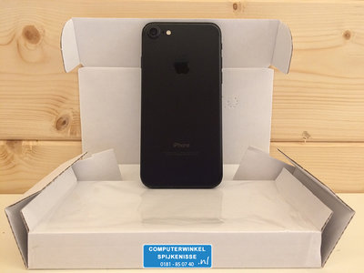 *Outlet* Apple iPhone 7 32GB simlockvrij zwart + Garantie