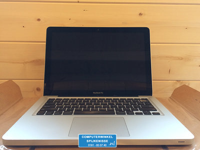 *Outlet* Apple MacBook Pro i5 13 inch 4/8GB hdd/ssd + Garantie