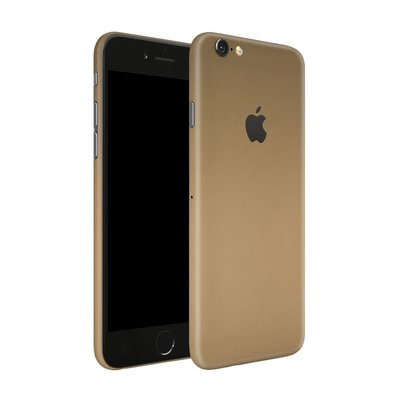 *Special design* Apple iPhone 6S + Dskinz Wrap gold + Garantie