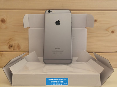 *Outlet* Apple iPhone 6 Plus 64GB simlockvrij Space Grey + Garantie