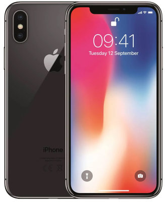 Apple iPhone X 256GB simlockvrij Space Grey + Garantie