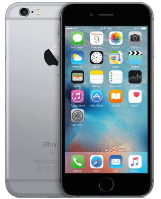 Apple iPhone 6S 128GB simlockvrij Space Grey + Garantie