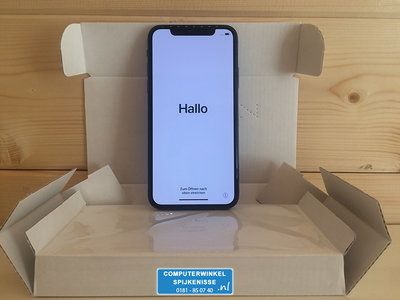 *ex showmodel* Apple iPhone X 256GB simlockvrij Space Grey + Garantie