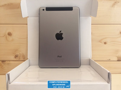 "*Gratis iPad standaard* Apple iPad Mini 2 128GB 7,9"" WiFi (4G) + Garantie"
