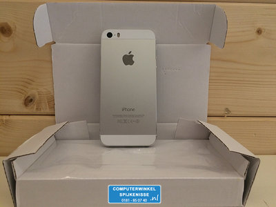 *Outlet* Apple iPhone 5s 16GB simlockvrij Silver White + Garantie