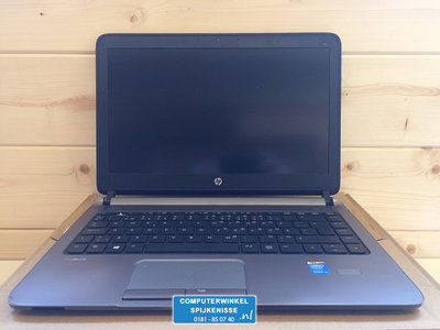 (mist F1 key) Windows 7 of 10 Pro Laptop HP Probook 430 G1 i3-4005U 1.7Ghz 4GB 120GB + Garantie