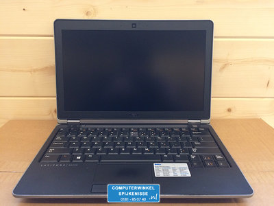 *kort zakelijk gebruikt* Windows XP, 7 of 10 Pro laptop Dell E6230 i5-3320M 4/8GB hdd/ssd 12.5 inch HD + Garantie