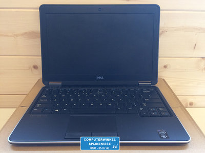 *ex showmodel* Windows 7 of 10 Pro Ultrabook Dell E7420 i5-4310U 4/8/16GB hdd/ssd 12.5 inch + garantie