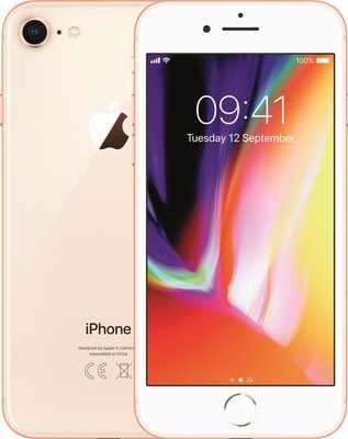 Apple iPhone 8 64GB simlockvrij gold + Garantie