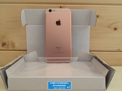 *Gratis iPhone standaard* Apple iPhone 6S Plus 64GB simlockvrij rose gold + Garantie