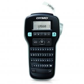 Dymo S0946320LM LABELMANAGER 160P QWERTY [hermal transfer, 180 x 180 DPI, 12 mm/s, LCD, Blk/Silver]