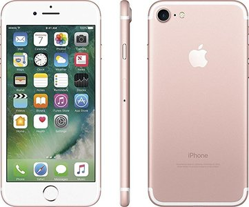 Apple iPhone 7 128GB simlockvrij Rose Gold + 1 jaar garantie