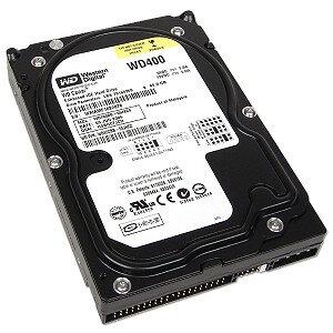 """*showmodel* Western Digital PC harddisk 3,5"""" 40GB WD400 IDE op=op"""