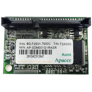 *outlet* Apacer 8GB Sata kaart 8G.F2E01.7500C