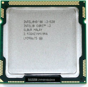 Opruiming *showmodel* Intel processor i3-530 2.93Ghz LGA1156 op=op