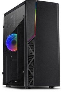 windows 7 of 10 pro CWS (Game) pc inter-tech b-02 Intel i3/i5/i7 CPU 8/16GB ssd hdmi