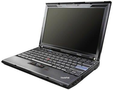Windows XP laptop Lenovo 12.1 inch Thinkpad X200 2GB 320GB