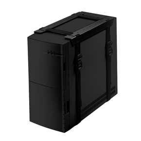 Newstar CPU-D025BLACK Desk-mounted CPU holder [1x 20 kg, 80 - 700 mm, 30 - 600 mm, Black]
