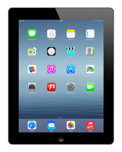 *tijdelijk niet leverbaar* Apple iPad 4 Zwart 16GB Wifi (4G) + garantie