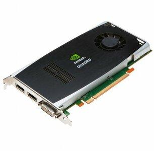 Nvidia Quadro FX1800 768MB GDDR3 Displayport, DVI-i