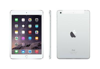 """*Gratis standaard* Apple iPad Mini 3 128GB 7,9"""" 2048x1536 White Silver WiFi"""