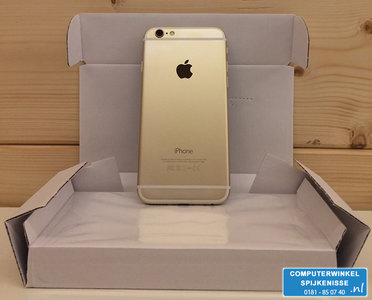 *Outlet* Apple iPhone 6 16GB simlockvrij White Gold + Garantie
